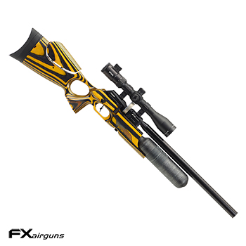 "FX Airguns ""the Crown - Laminated Wood, Yellow"" HPA Luftgewehr 7.62mm Diabolo - 102 Joule"