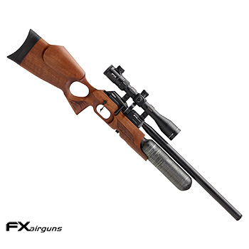 "FX Airguns ""the Crown - Walnut"" HPA Luftgewehr 7.62mm Diabolo - 102 Joule"