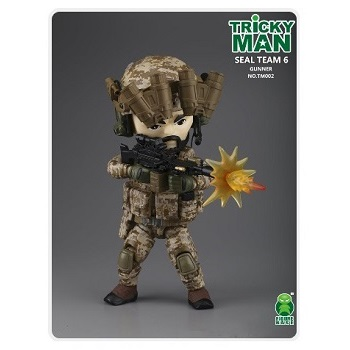 Trickyman Mini Figure Series - SEAL Team 6 Gunner