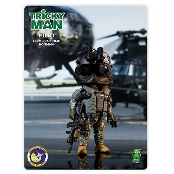 Trickyman Mini Figure Series - 160th SOAR Pilot