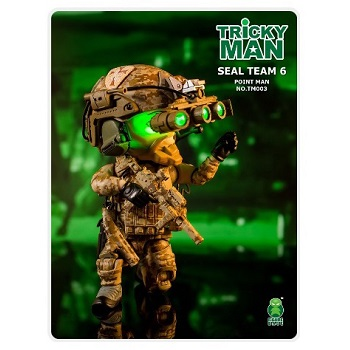 Trickyman Mini Figure Series - SEAL Team 6 Pointman