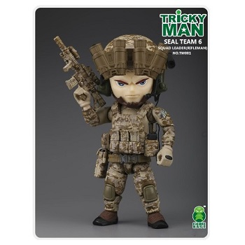 Trickyman Mini Figure Series - SEAL Team 6 Squad Leader