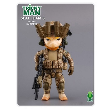 Trickyman Mini Figure Series - SEAL Team 6 Sniper