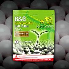 G&G Bio BBs 0.20g, TAN - 5'000rnd
