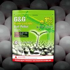 G&G Bio BBs 0.20g, weiss - 5'000rnd