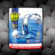 G&G Bio BBs 0.25g, weiss - 4'000rnd