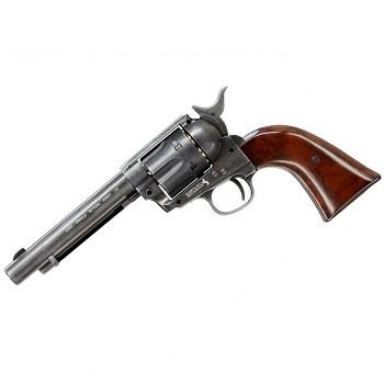 """GunHeaven Colt S.A.A. .45 """"Peace Maker"""" Co² Revolver - Aged"""