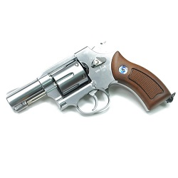 "WinGun M36 Sheriff 2.5"" Co² Revolver - Chrome"