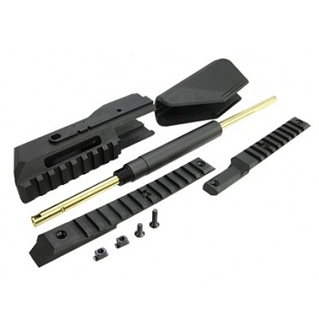 "GHK Carbine Kit 12"" für G5 PDW Serie - Black"