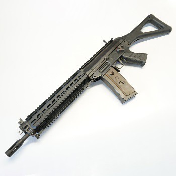 GHK SG 551 (Steel) Tactical GBBR - Black