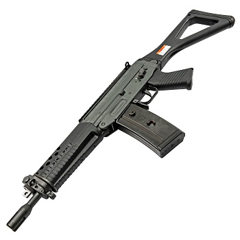 GHK SG 553 (Steel) GBBR - Black/Grey
