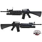 G&P M16A3 AEG mit M203 Granatwerfer Full Metal