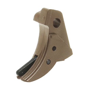 Guarder Ridged Trigger für WE/Marui G17 - Desert