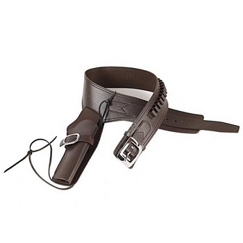 "GunHeaven ""Western-Style"" Revolver Holster - Brown"