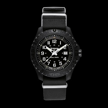 traser P96 Outdoor Pioneer H3 Watch - Black