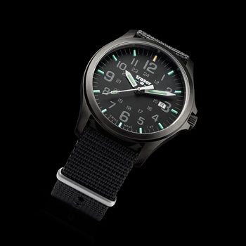 traser P67 OfficerGun H3 Watch - Black