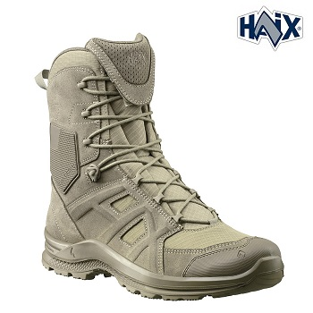 HAIX ® Black Eagle Athletic 2.0 V T High/Desert Sidezipper - Gr. 43 (UK 9)
