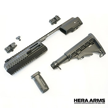"Hera Arms ® Triarii Carbine Kit ""Ready To Use"" (RTU) für M&P 9 Serie - Black"
