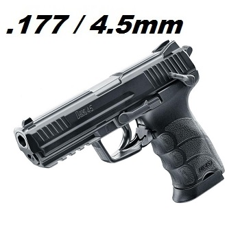 Heckler & Koch HK45 NBB Co² 4.5mm BB - Black