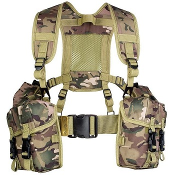 Highlander Full PLCE Webbing Set - MultiCam