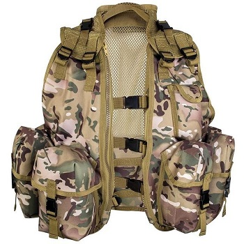 Highlander Cadet Tactical Assault Vest - MultiCam