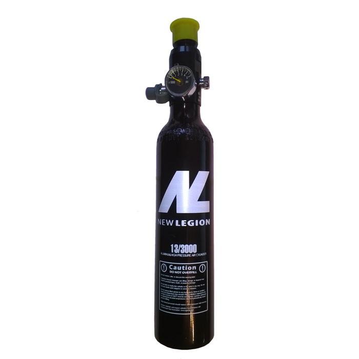 New Legion TÜV 200 Bar / 0.2L HPA Flasche mit Pin-Ventil HPA