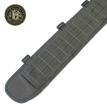 HSGI ® Sure-Grip Molle Belt, XL - Wolf Grey