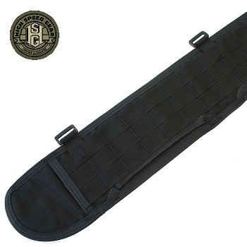 HSGI ® Sure-Grip Molle Belt, Large - Black