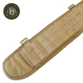 HSGI ® Sure-Grip Molle Belt, XL - Coyote