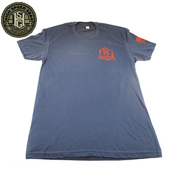 HSGI ® Short Sleeve T-Shirt, Faded Navy - Gr. L