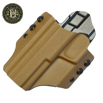 HSGI ® OWB Kydex Holster M&P Extended Slide, links - Coyote Brown
