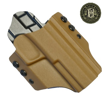 HSGI ® OWB Kydex Holster M&P Extended Slide, rechts - Coyote Brown