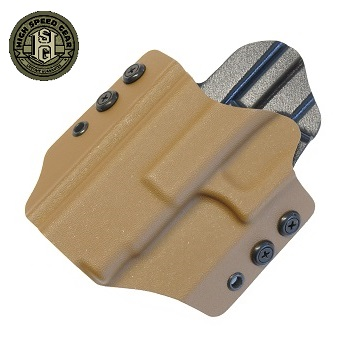 HSGI ® OWB Kydex Holster Glock Standard, links - Coyote Brown