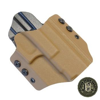HSGI ® OWB Kydex Holster Glock Standard, rechts - Coyote Brown