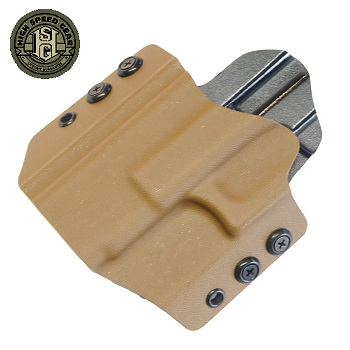 HSGI ® OWB Kydex Holster Glock Compact, links - Coyote Brown