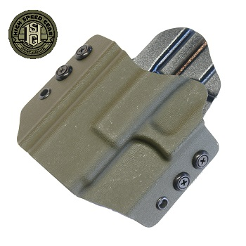 HSGI ® OWB Kydex Holster Glock Compact, links - Olive