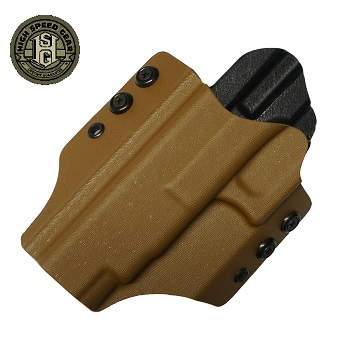 HSGI ® OWB Kydex Holster Glock Competition, links - Coyote Brown