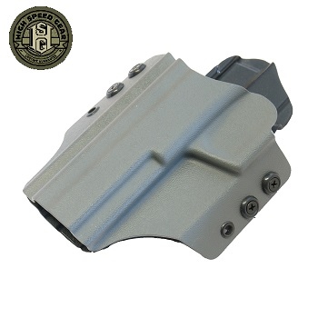 HSGI ® OWB Kydex Holster M&P Extended Slide, links - Wolf Grey