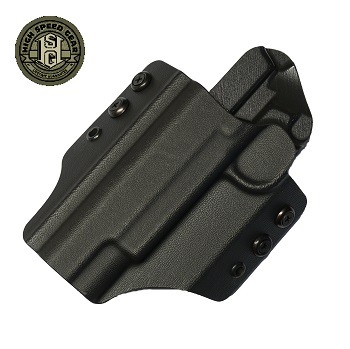 HSGI ® OWB Kydex Holster 1911 Operator, links - Black