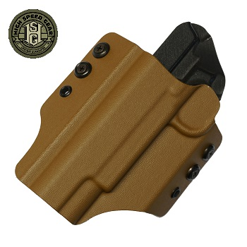 HSGI ® OWB Kydex Holster 1911 Operator, links - Coyote Brown