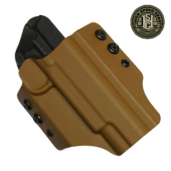HSGI ® OWB Kydex Holster 1911 Operator, rechts - Coyote Brown