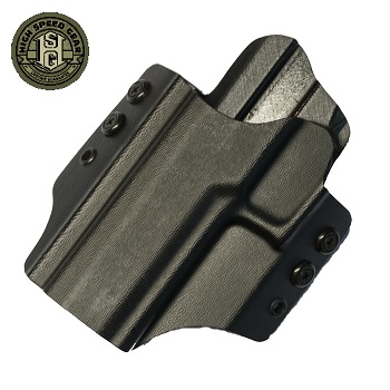 HSGI ® OWB Kydex Holster SIG P320, links - Black