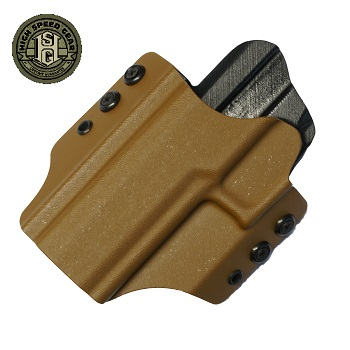 HSGI ® OWB Kydex Holster SIG P320, links - Coyote Brown