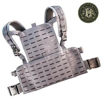 HSGI ® Neo Chest Rig (Laser Cut) - Wolf Grey