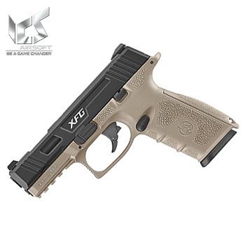 ICS BLE XFG GBB Pistol - Desert / Black