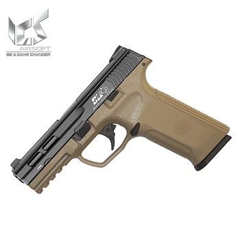 ICS BLE XAE GBB Pistol - Desert / Black