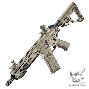 ICS M4 CXP HOG KeyMod AEG/EBB - Desert