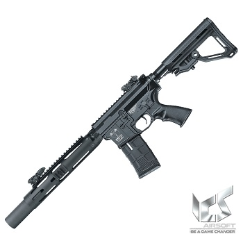 ICS M4 CXP Tubular SD MTR AEG/EBB - Black