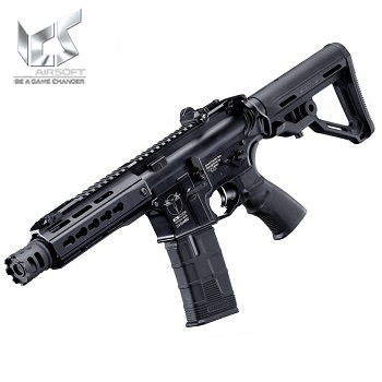 "ICS M4 CXP UK1 C ""Captain"" KeyMod AEG/EBB - Black"