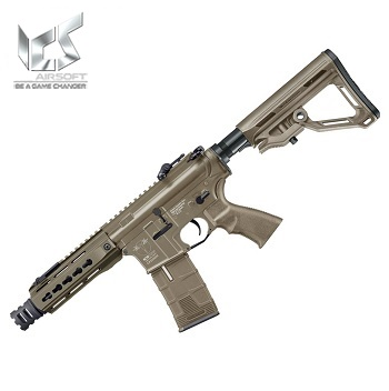 "ICS M4 CXP UK1 C ""Captain"" KeyMod AEG/EBB - Desert"